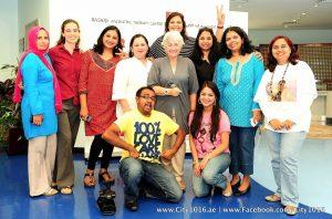 Rohit Jayakaran at the rashid paediatric therapy center