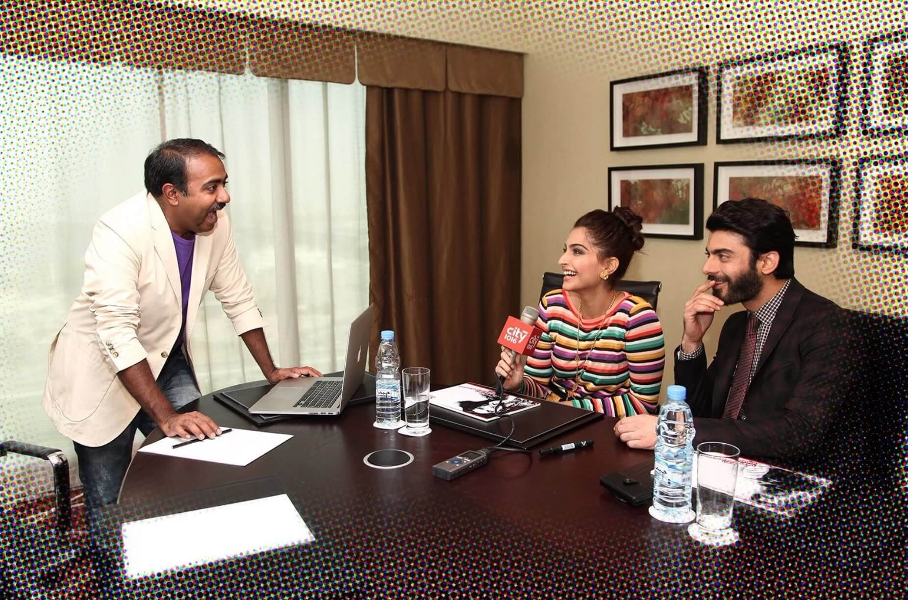 Rohit Jayakaran with Sonam Kapoor and Fawad Khan - 2