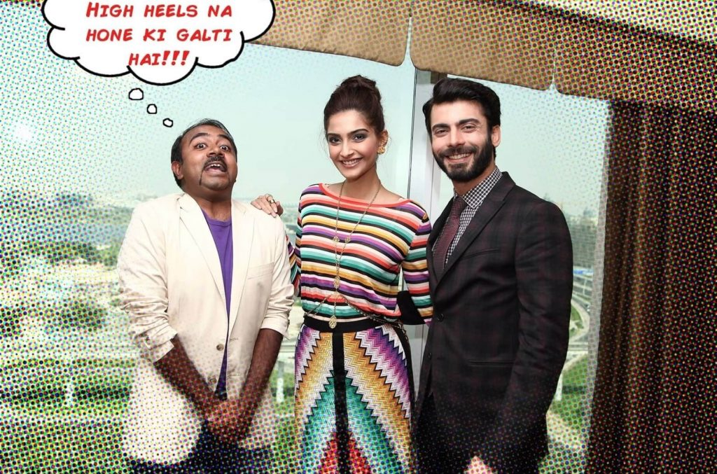 Rohit Jayakaran with Sonam Kapoor and Fawad Khan - 6