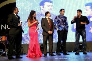 Rohit Jayakaran with Salman Khan